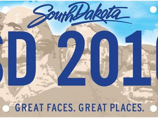 South Dakota's new license plates wrong?