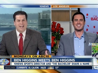 Hundreds tweet at wrong Ben Higgins