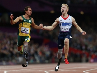 Some paralympic runners may be disadvantaged