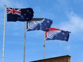 New Zealand votes to keep its flag the same