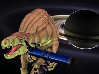 Saturn looked different when dinos roamed Earth