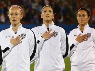 USWNT players file wage-discrimination complaint