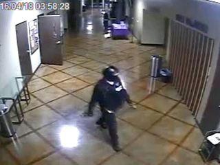 Suspect in SWAT gear sought in killing