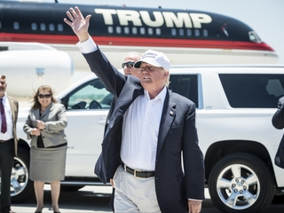 Donald Trump's private plane could be grounded