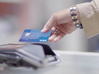 Visa's chip-enabled cards are reducing fraud