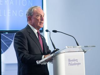 Bloomberg says Trump and Sanders are demagogues