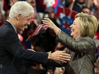Hillary Clinton hints at Bill Clinton's WH role