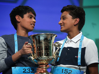 Scripps National Spelling Bee names co-champs