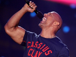 Is 'The Rock' cooking up a presidential run?