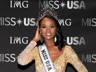 Miss USA advocates for women in combat