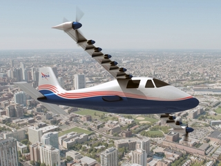 NASA's X-57 adds propellers for more lift
