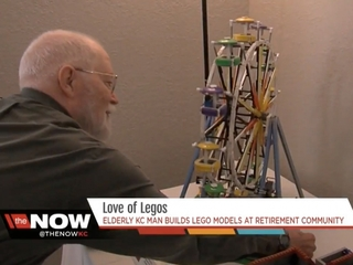 84-year-old stays young by building Lego models