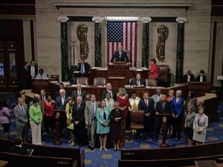 House Democrats are staging a 'sit-in'