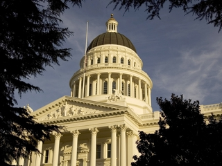 California white nationalist rally turns violent