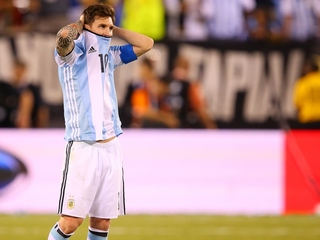Messi to retire from international soccer