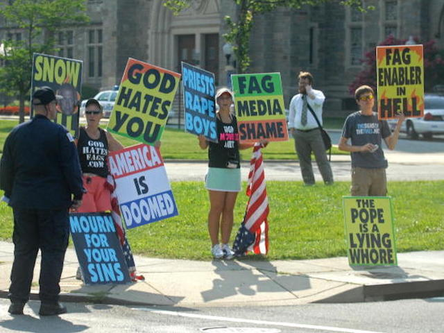 the rights of the westboro baptist church