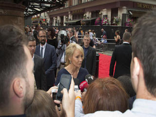 JK Rowling hopes Harry Potter play goes global