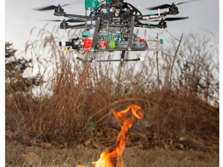 Fire-dropping drones could help fight fires