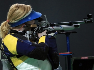 Olympian talks about winning gold and gun rights