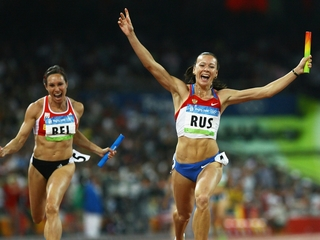 Doping scandal costs Russia a 2008 gold medal