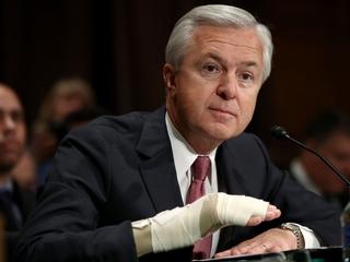 Wells Fargo scandal costs CEO millions