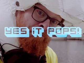 Stanford researchers test inflatable bike helmet