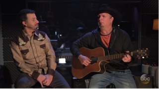 Garth Brooks shows how to write a country song
