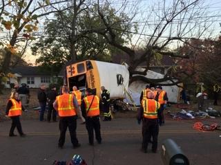Children killed in bus crash