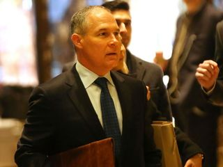 Climate change denier to lead EPA