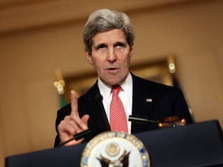 Kerry slams Syrian regime