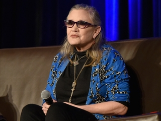 Carrie Fisher in hospital after heart attack