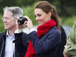 Kate Middleton is an official royal photographer