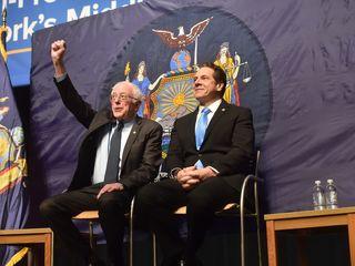 Sanders, Cuomo debut plan for free N.Y. tuition