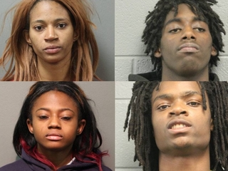 4 charged for beating Chicago man