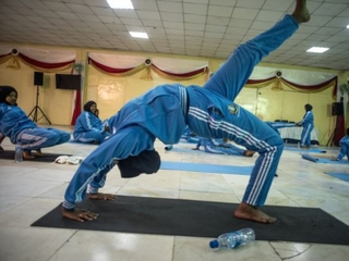 In Somalia, yoga can offer peace after violence