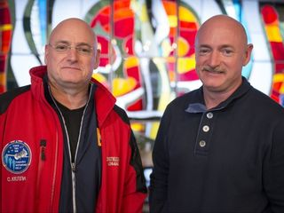 Astronaut twins' genes diverged unexpectedly