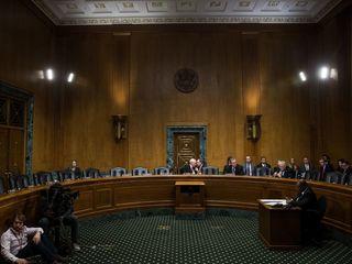 Democrats boycott votes on Trump's cabinet picks