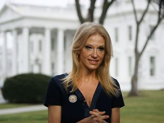 Conway cites false terror attack to defend ban