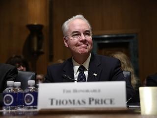 Senate confirms Tom Price as secretary of HHS
