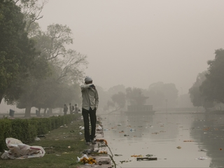 India's air pollution dangers could pass China's
