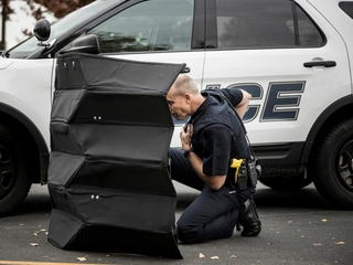 BYU makes origami-inspired bulletproof shield