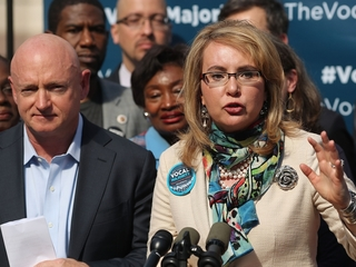 Giffords tells lawmakers to hold town halls