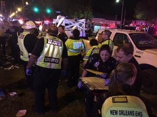 Police: Drunken driver hit New Orleans' crowd