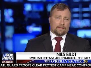 Fox News mislabels Swedish expert on air