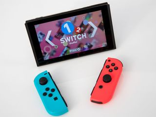 Nintendo Switch hits retail shelves