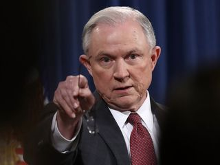 Sessions scoffs at DOJ intern's pot questions