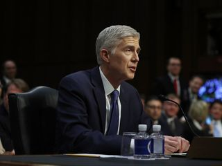 Gorsuch faces criticism during hearing