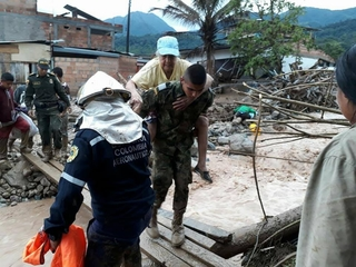 Mudslides in Colombia kill more than 250 people