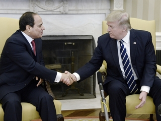 Trump and Sisi meet to talk about ISIS