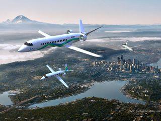Tech company designs electric regional plane